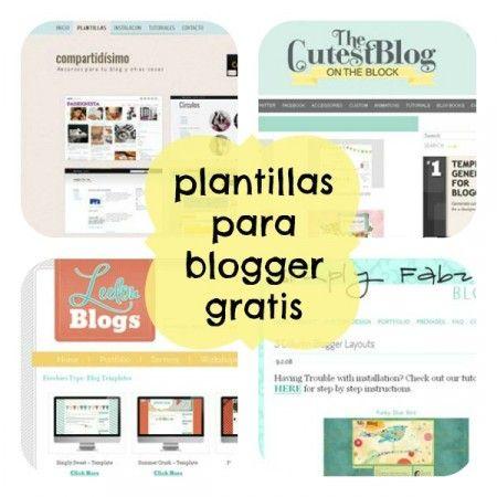 10 sitios para descargar plantillas para blogger gratis